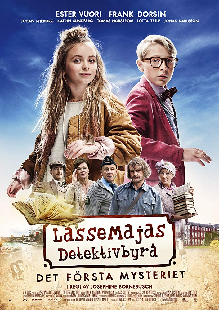 LasseMajas detektivbyrå – Det första mysteriet